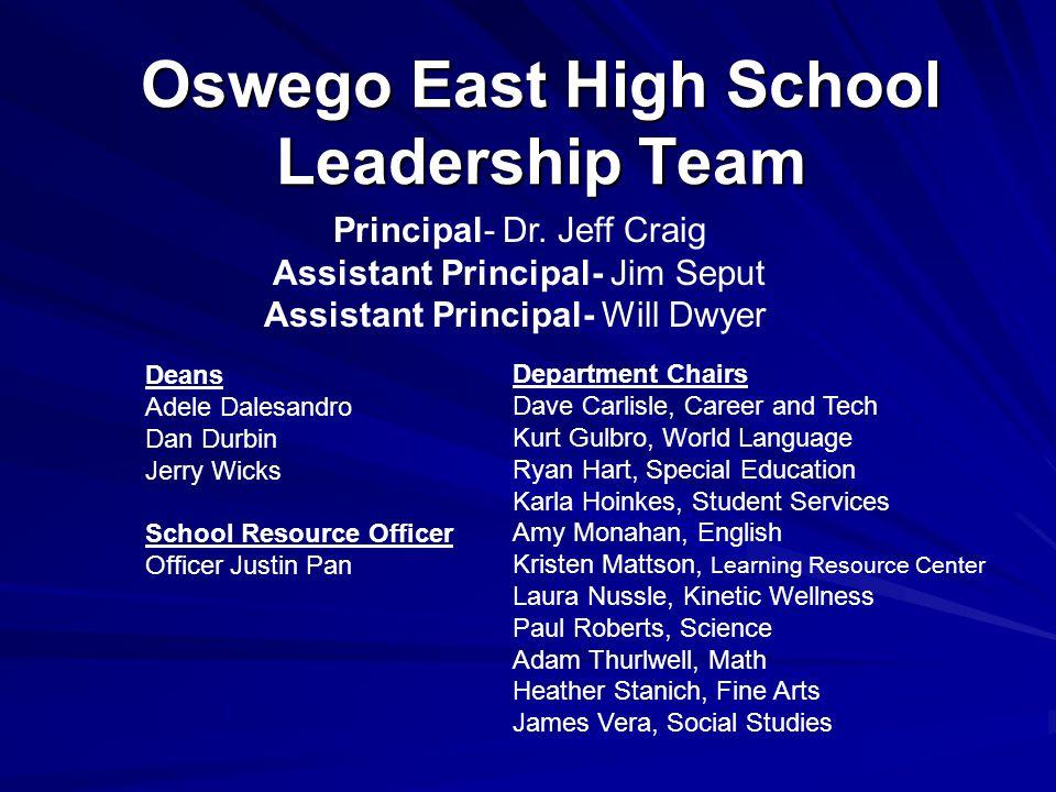 Oswego East High School Leadership Team