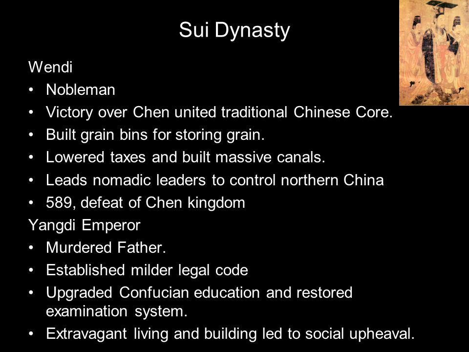 Sui Dynasty Wendi Nobleman
