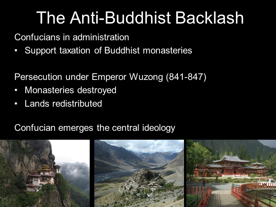 The Anti-Buddhist Backlash