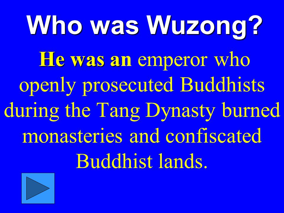 Who was Wuzong.