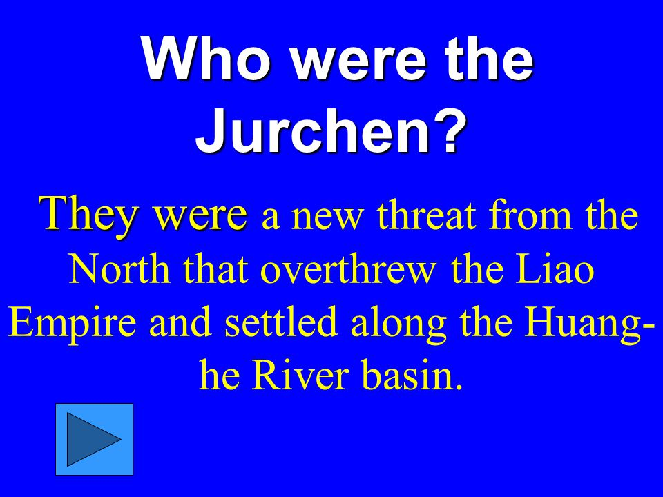 Who were the Jurchen.