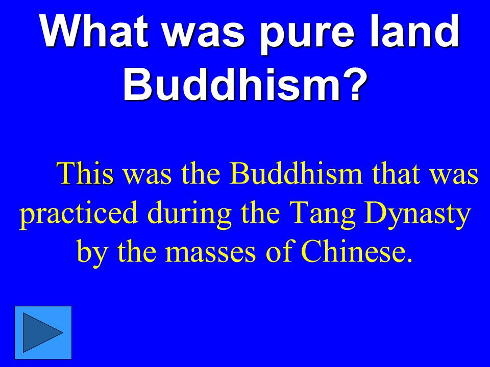 What was pure land Buddhism