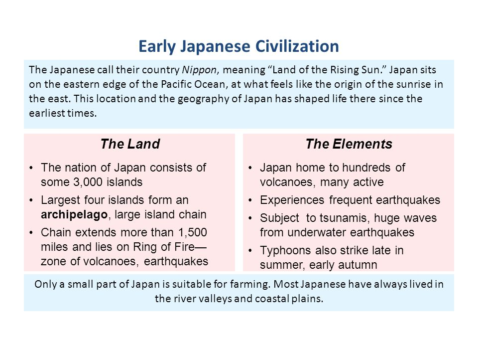 Early Japanese Civilization