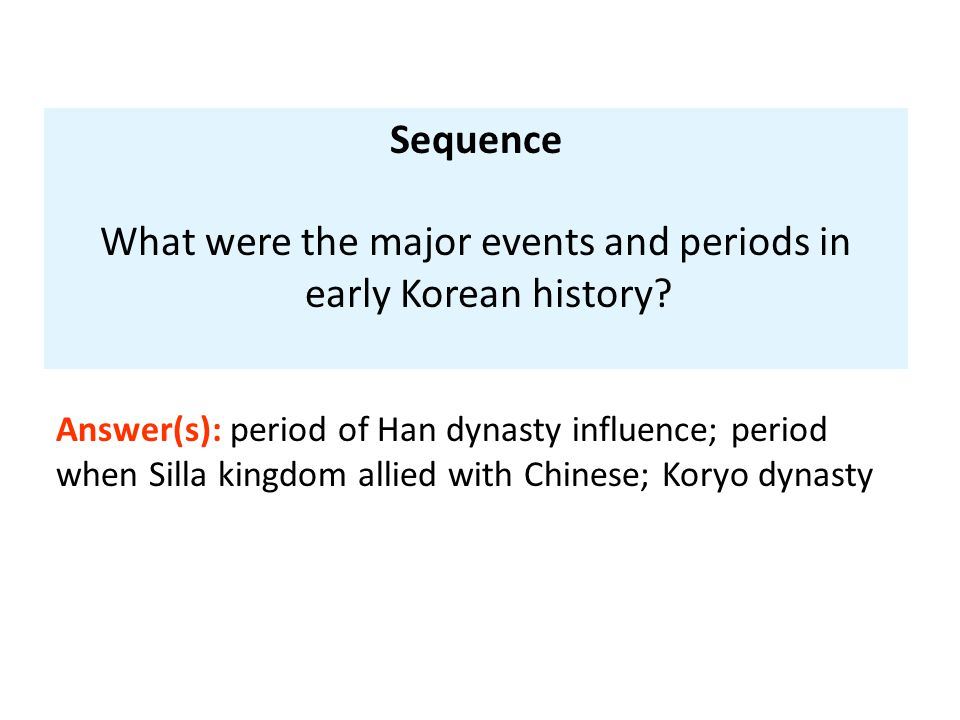 What were the major events and periods in early Korean history