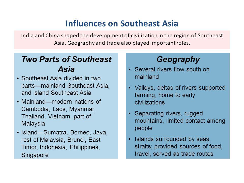 Influences on Southeast Asia