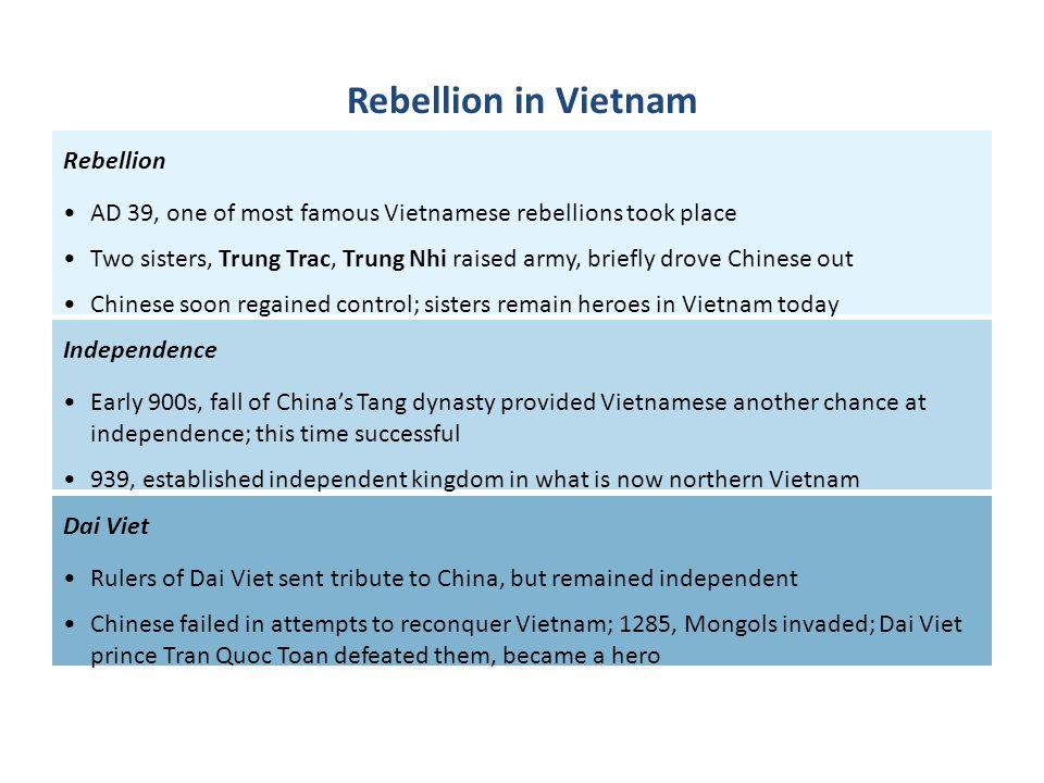 Rebellion in Vietnam Rebellion