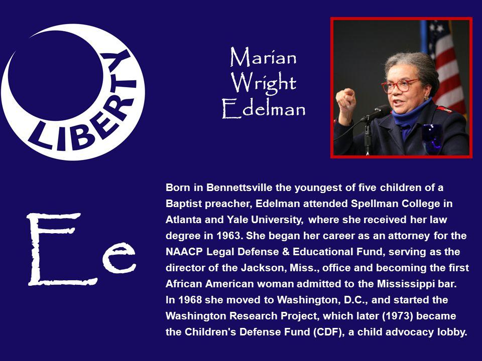 Ee Marian Wright Edelman