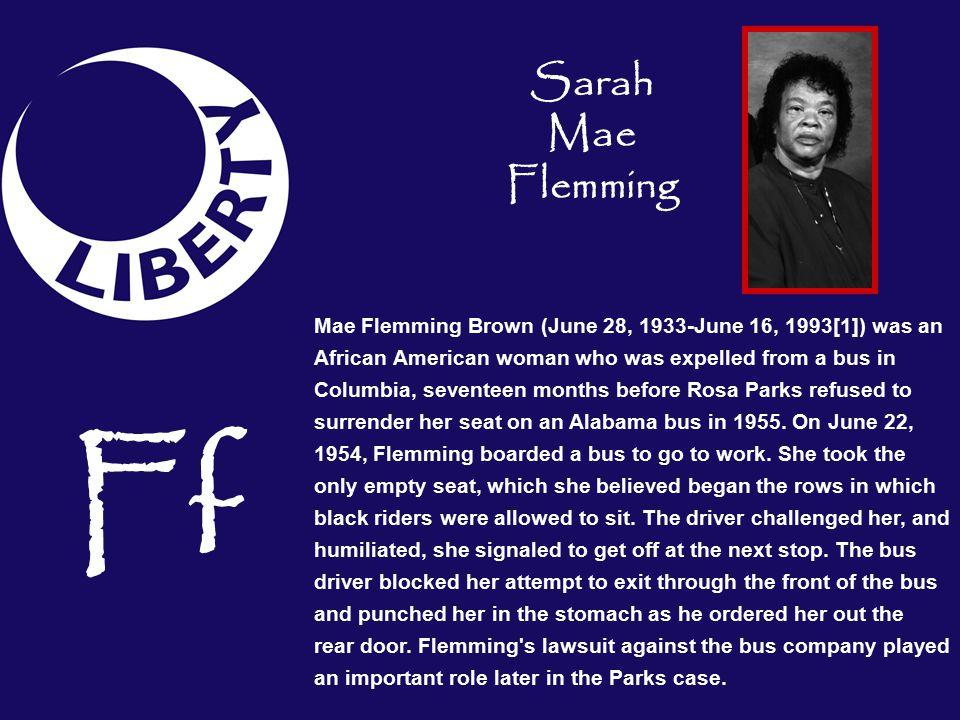 Sarah Mae Flemming
