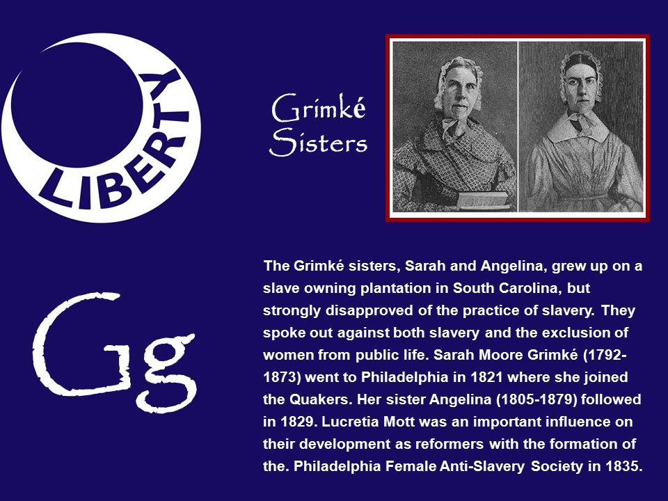 Grimké Sisters