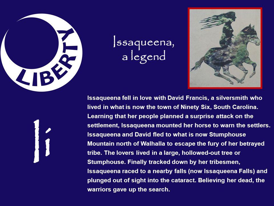 Issaqueena, a legend