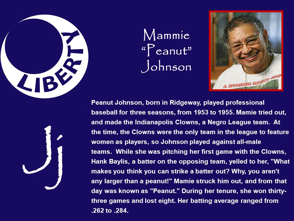 Mammie Peanut Johnson