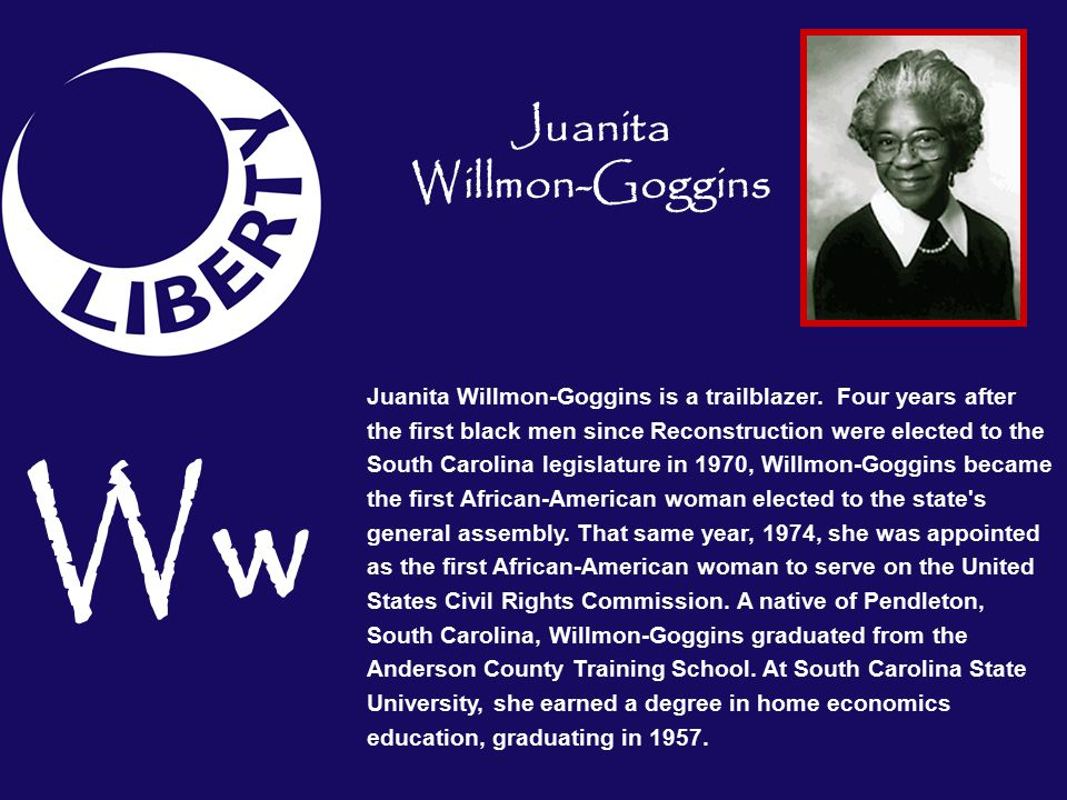 Ww Juanita Willmon-Goggins