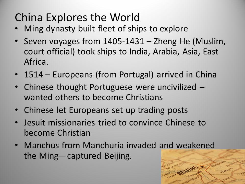 China Explores the World