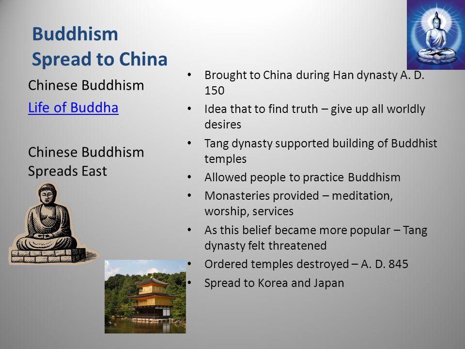 Buddhism Spread to China