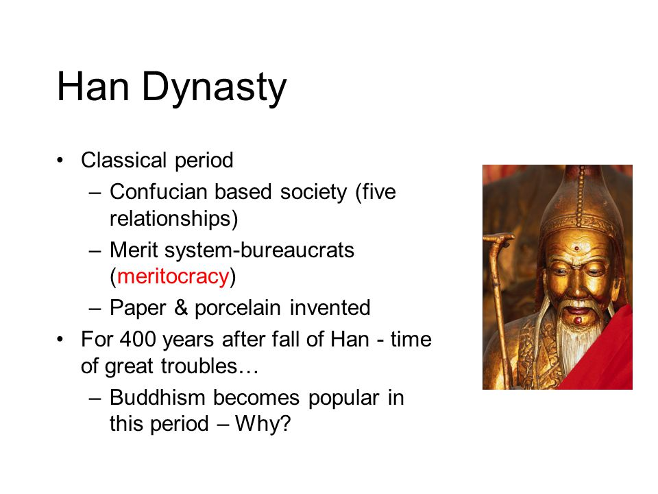 Han Dynasty Classical period