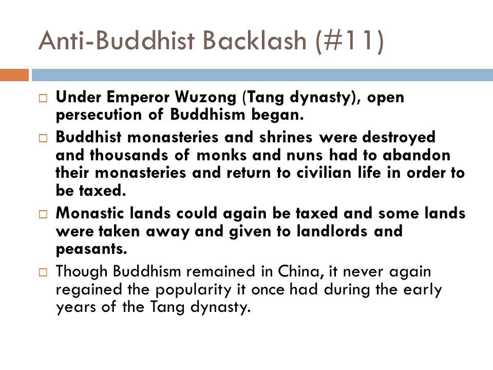 Anti-Buddhist Backlash (#11)