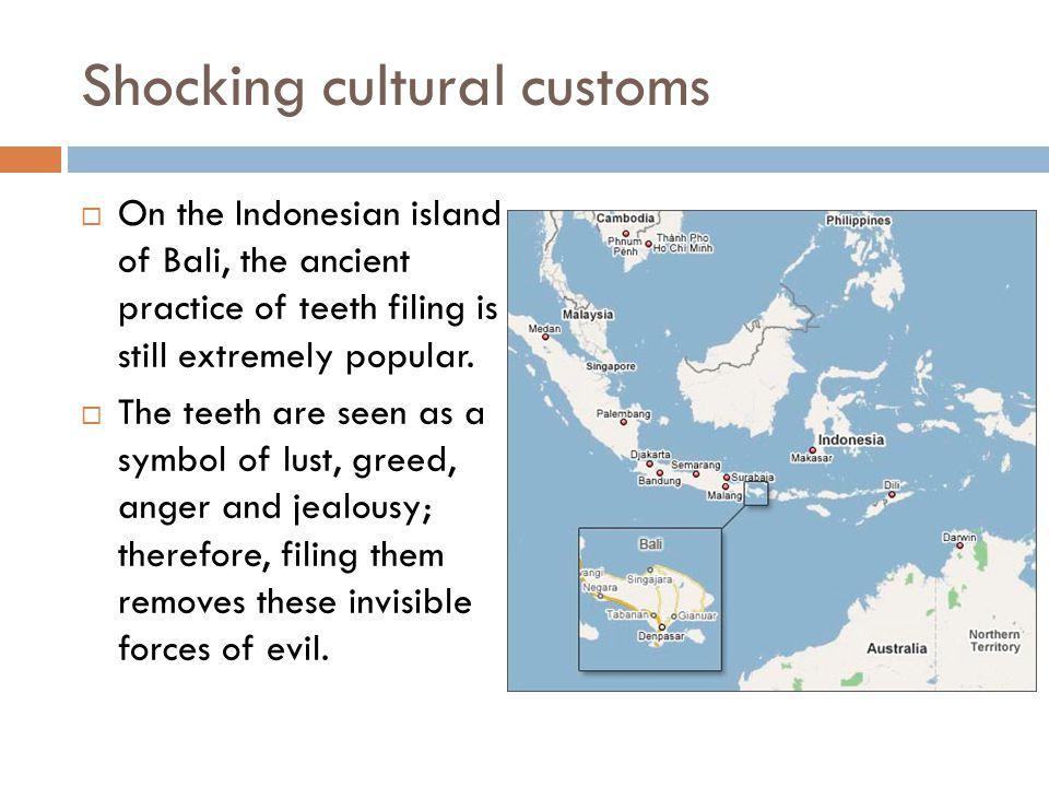 Shocking cultural customs