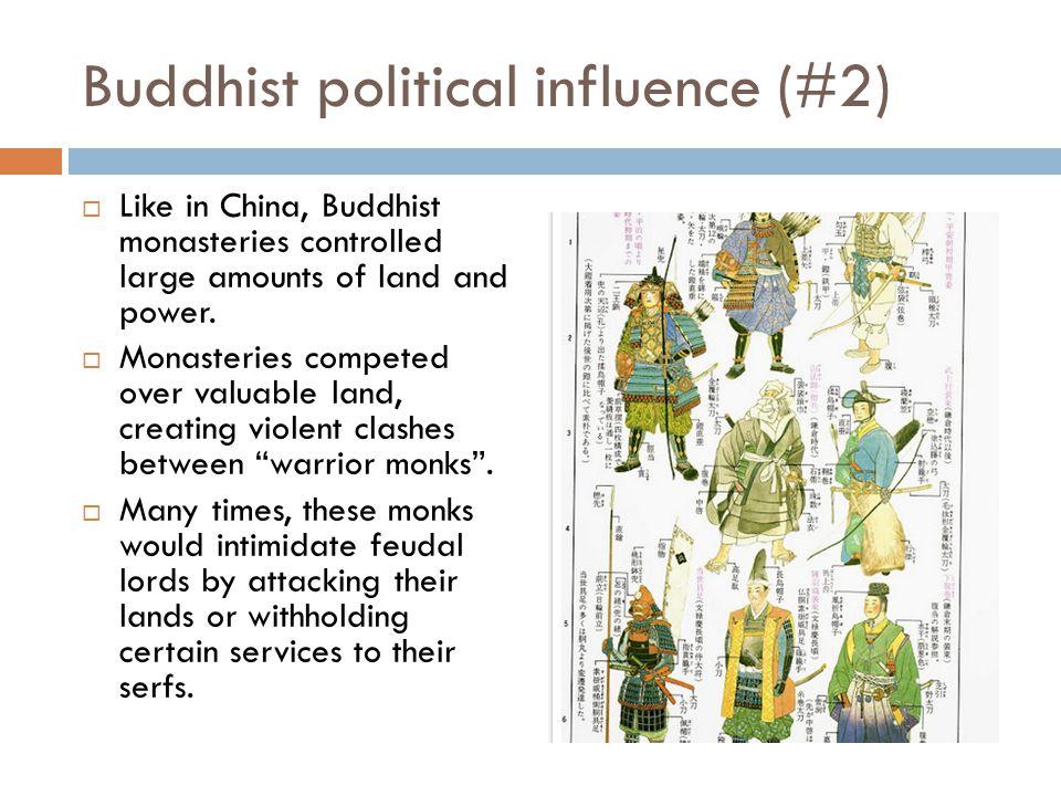 Buddhist political influence (#2)