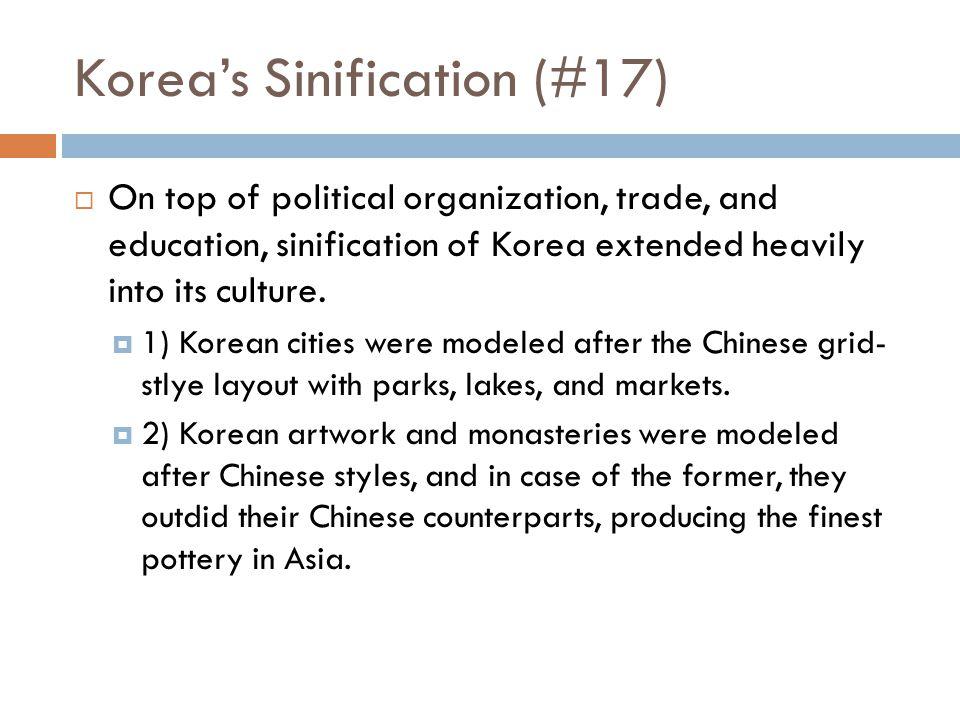 Korea's Sinification (#17)