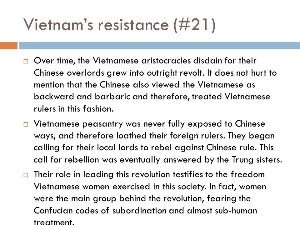 Vietnam's resistance (#21)