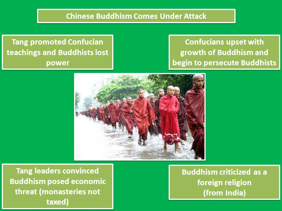 Chinese Buddhism Comes Under Attack