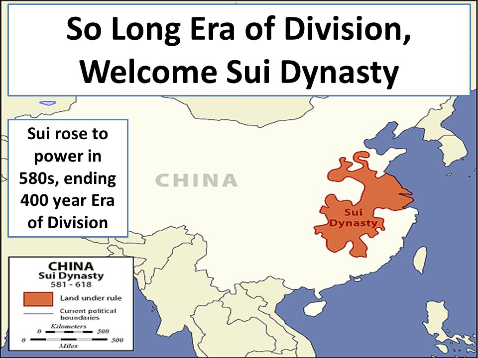 Politics of the sui dynasty