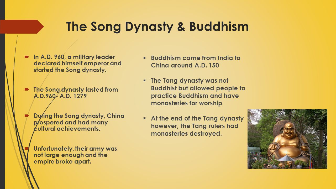 The Song Dynasty & Buddhism