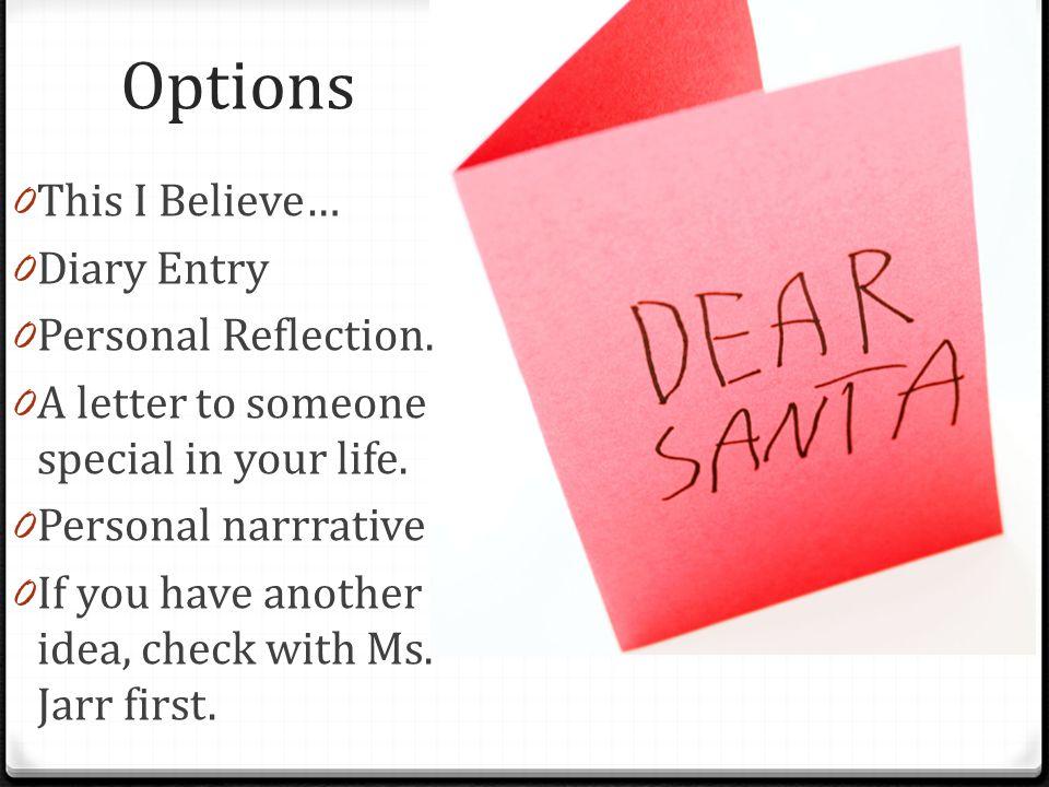 write a this i believe essay