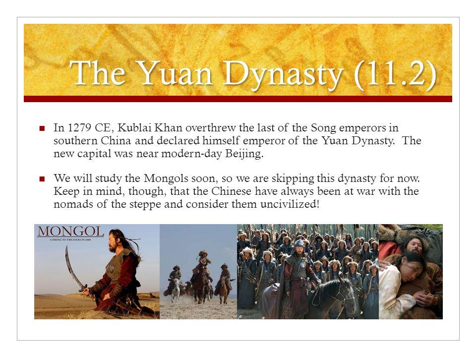The Yuan Dynasty (11.2)