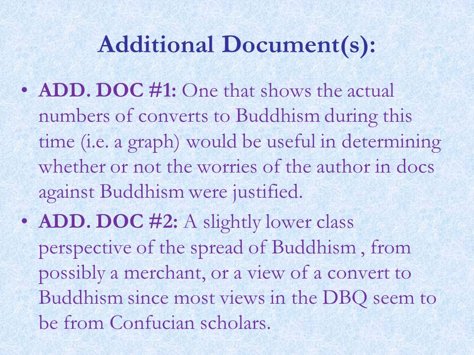 Additional Document(s):