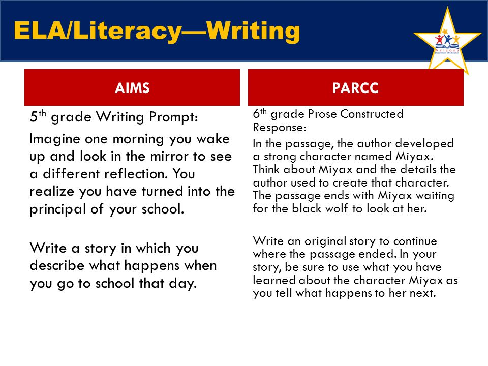 ELA/Literacy—Writing