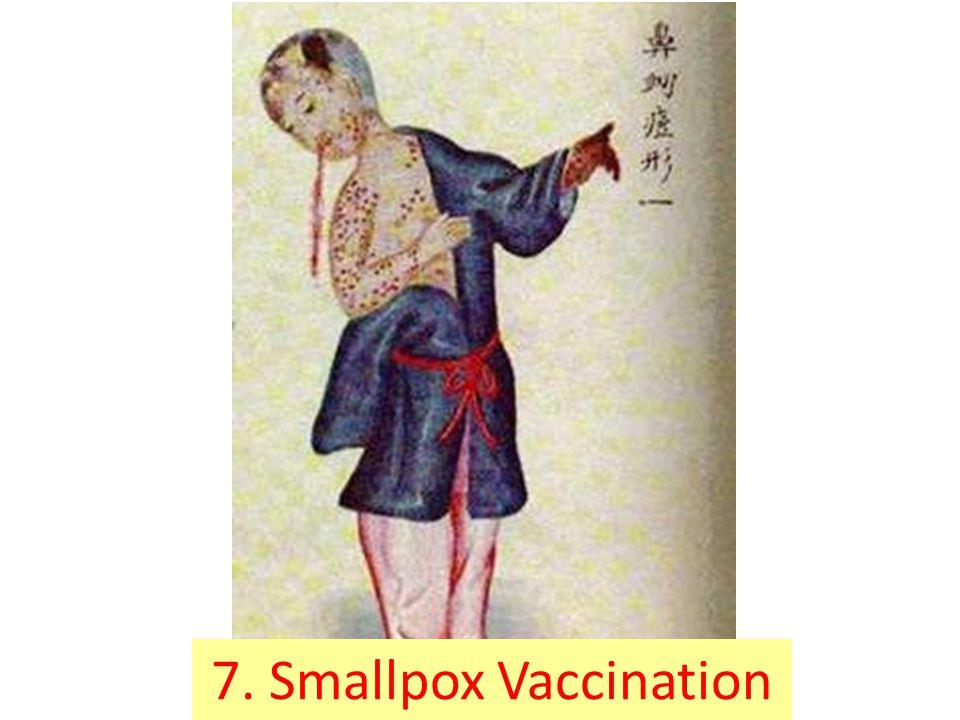 7. Smallpox Vaccination