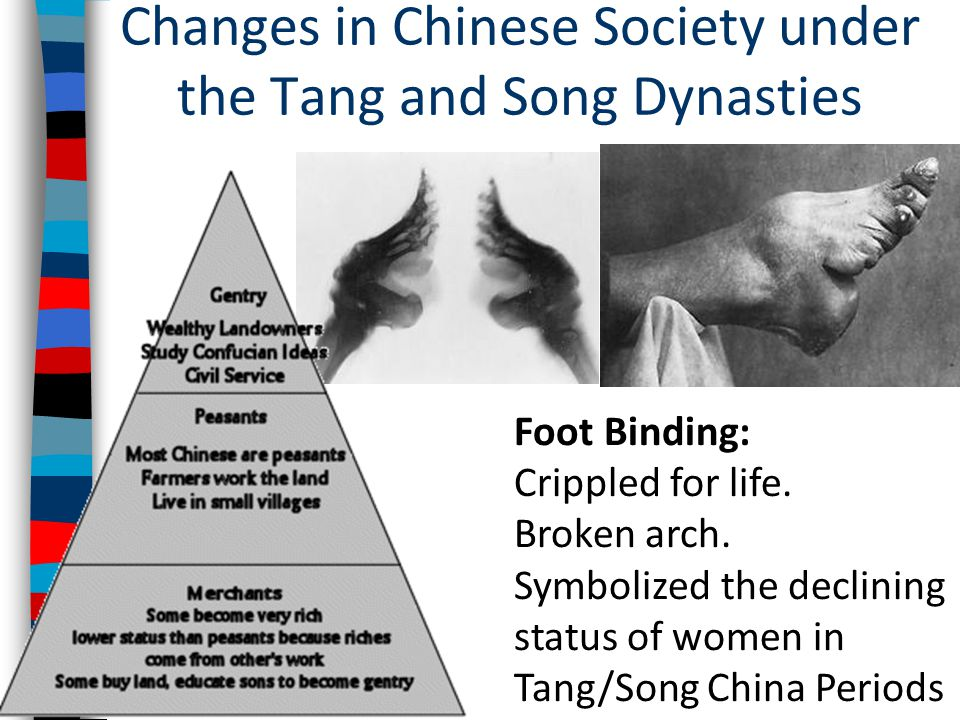 Changes in Chinese Society under the Tang and Song Dynasties
