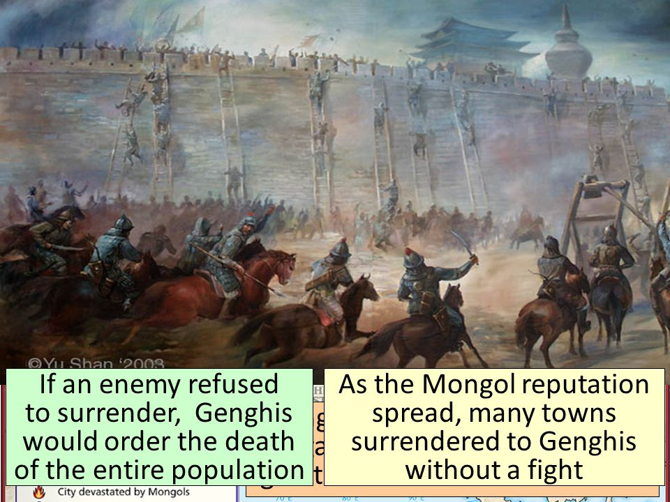 How did the Mongols create this massive empire