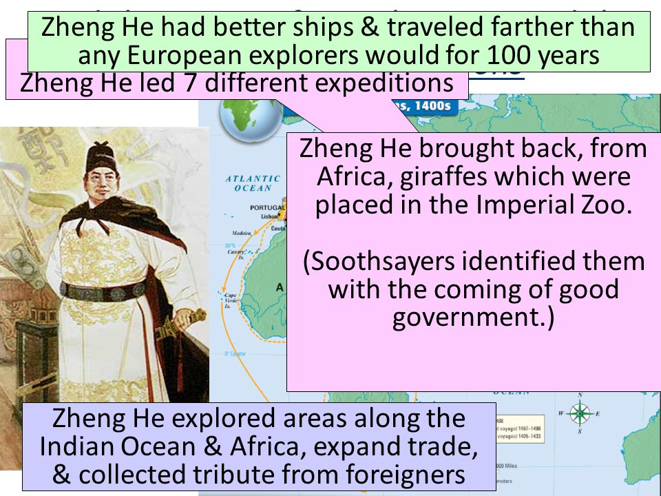 Read the excerpt from Zheng He and the Treasure Fleet Expeditions