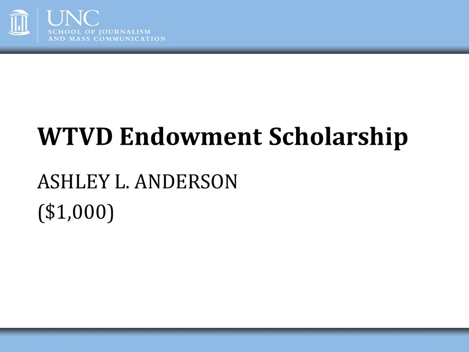 WTVD Endowment Scholarship