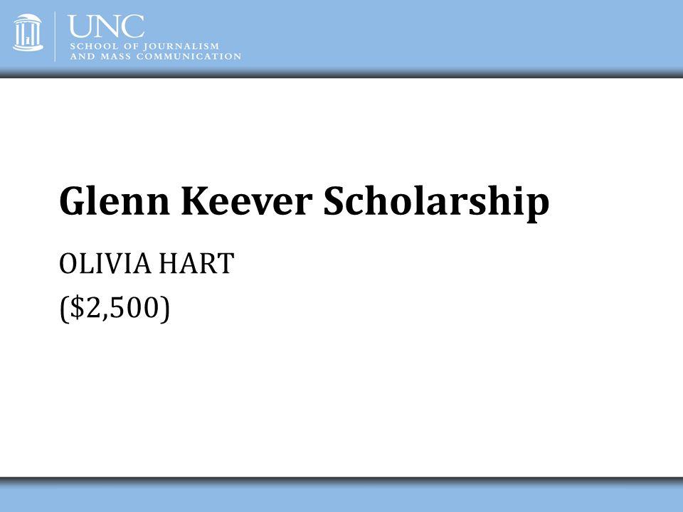 Glenn Keever Scholarship