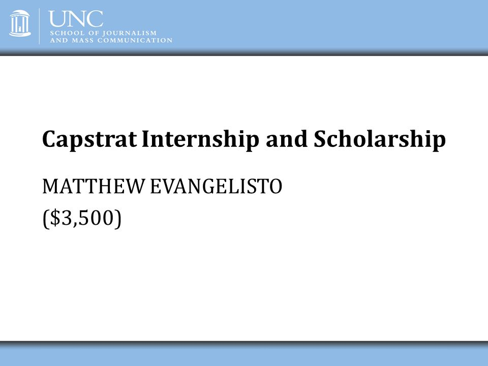 Capstrat Internship and Scholarship
