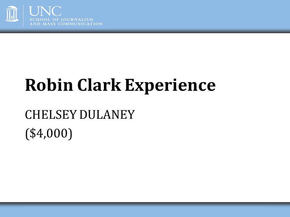 Robin Clark Experience