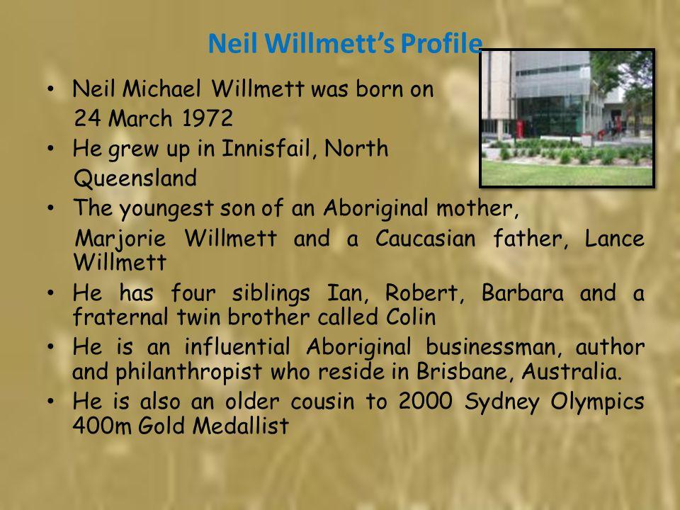 Neil Willmett's Profile