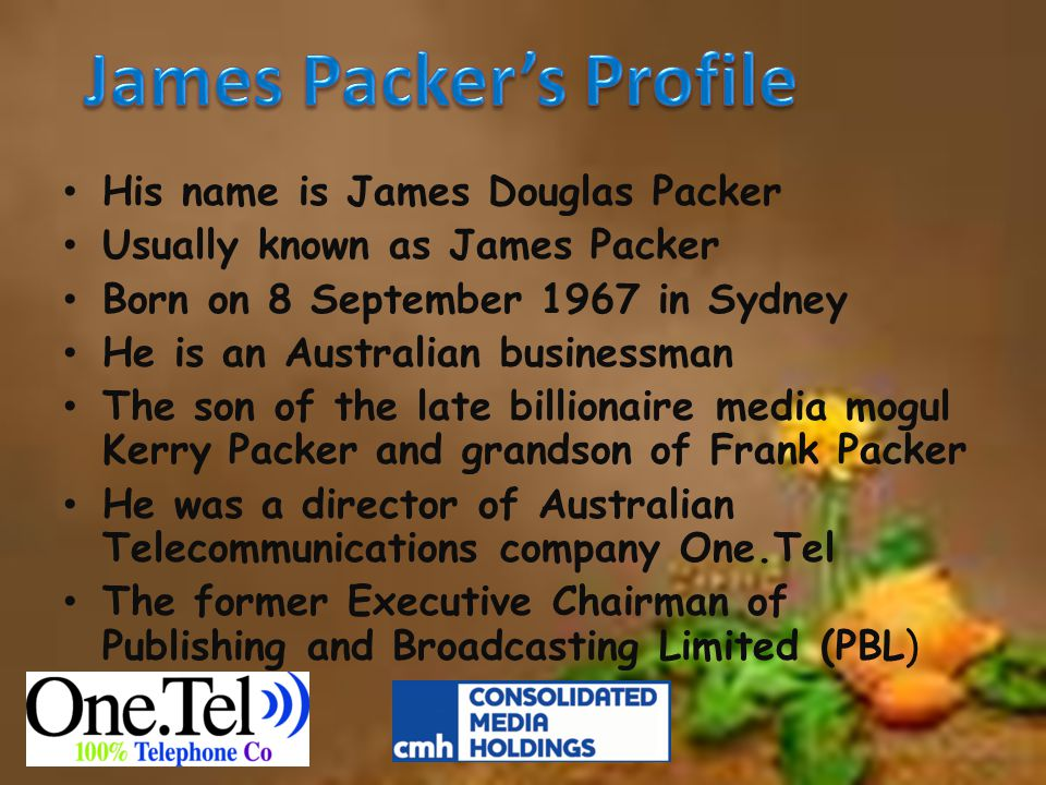 James Packer's Profile