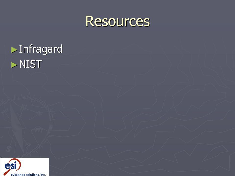 Resources Infragard NIST