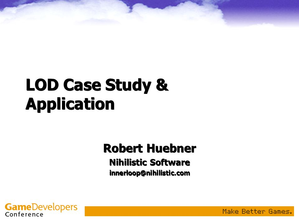 LOD Case Study & Application