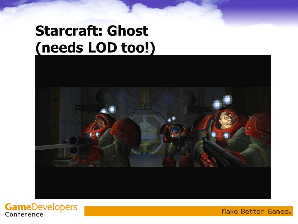 Starcraft: Ghost (needs LOD too!)