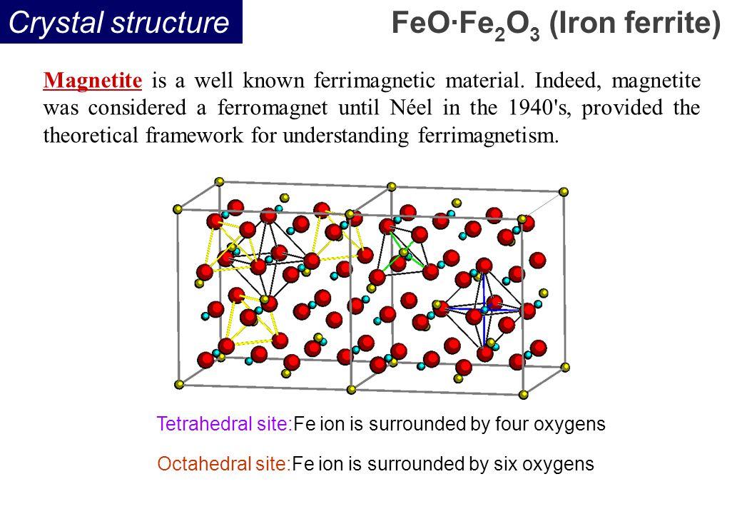 FeO·Fe2O3 (Iron ferrite)