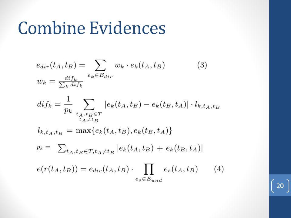 Combine Evidences