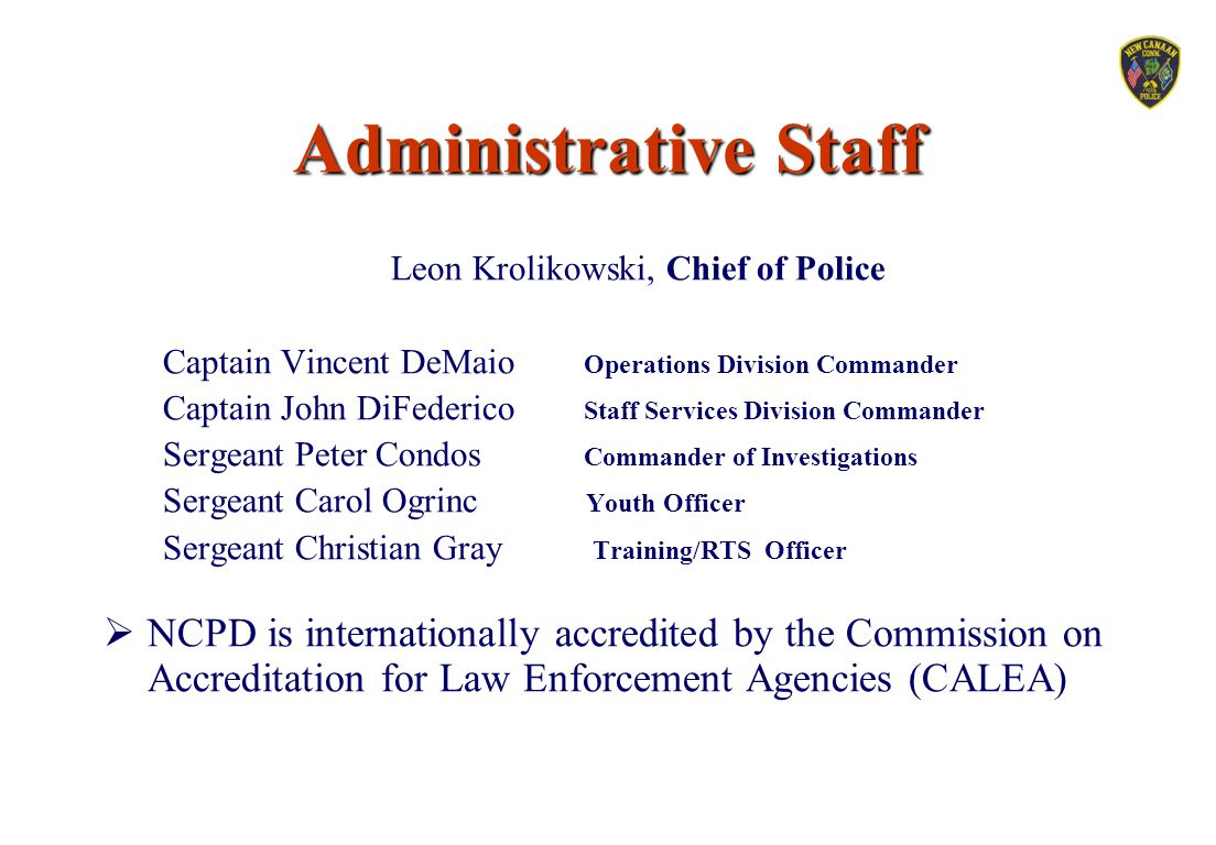 Leon Krolikowski, Chief of Police