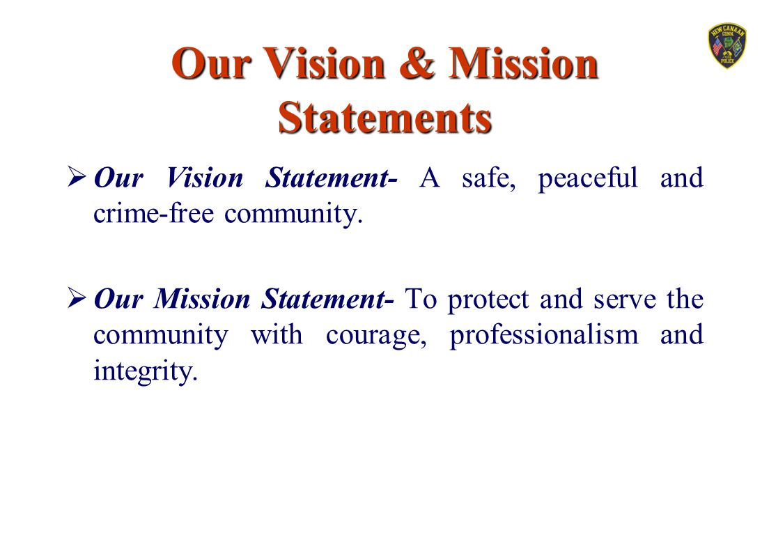 Our Vision & Mission Statements