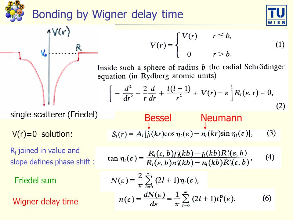Bonding by Wigner delay time