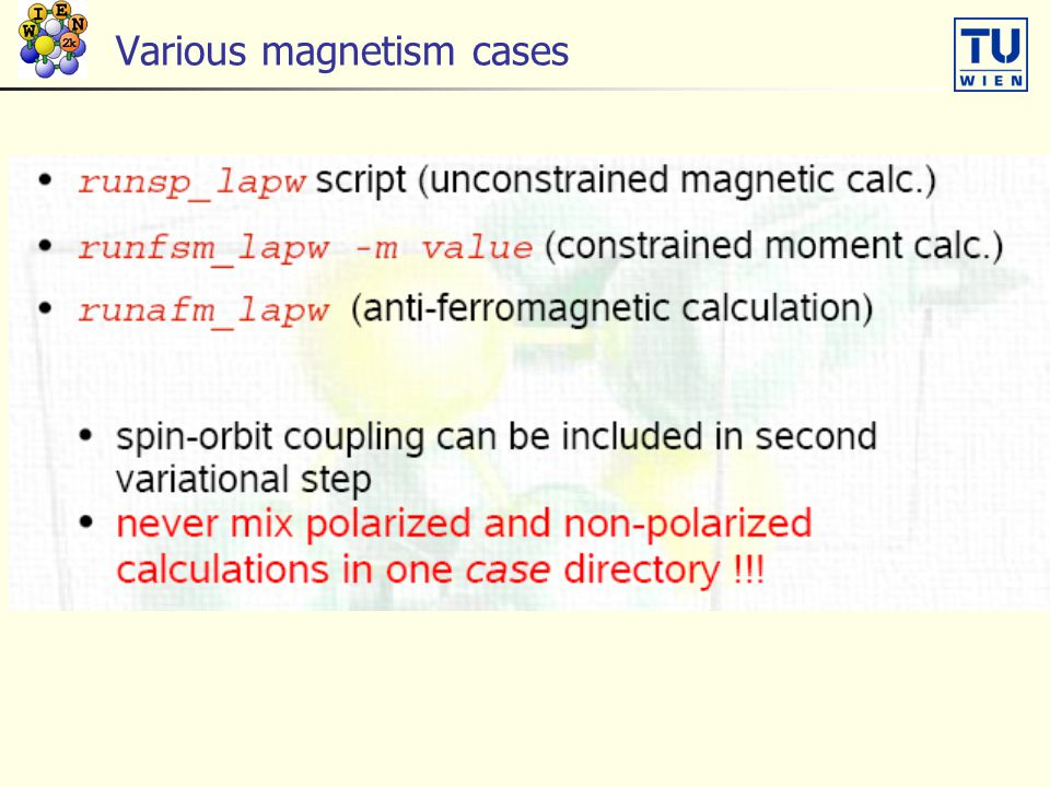 Various magnetism cases